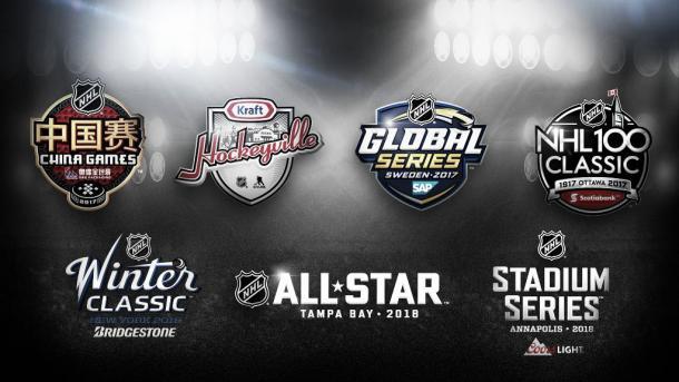 Desde el All Star Game, la NHL no ha parado de añadir eventos promocionales. Foto: sportresults.com