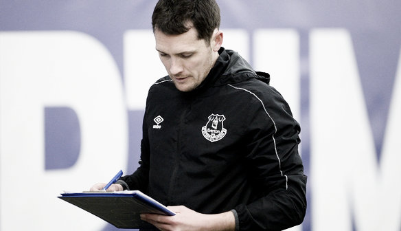 Andy Spence returned as Everton Manager. Photo: http://everton.fawsl.com/