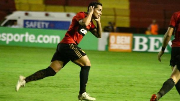 Everton Felipe parece estar distante do Ninho do Urubu. Foto: Williams Aguiar/Sport Club do Recife