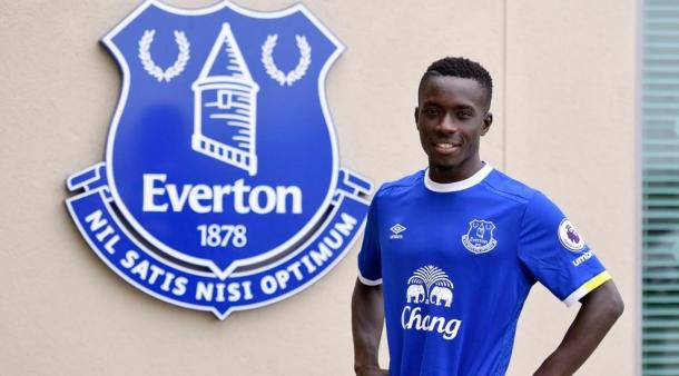 The 26-year-old is Everton's second signing of the summer transfer window. | Photo: Everton