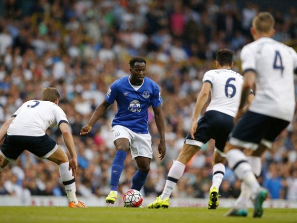 Everton's Romelu Lukaku is a doubt for Saturday's Premier League opener. | Photo: Getty Images