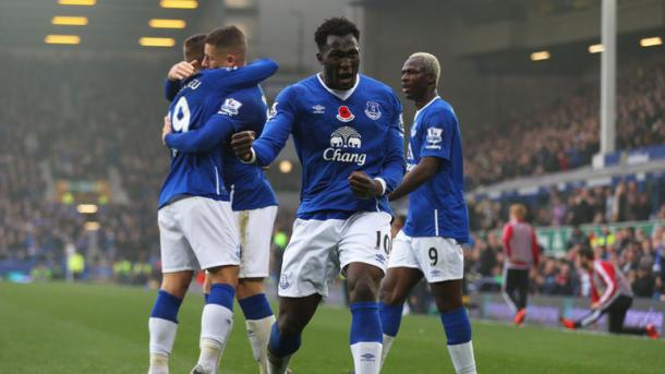 Everton showed their quality in the reverse of this fixture, beating Sunderland 6-2 at home. (Photo: Sky Sports)