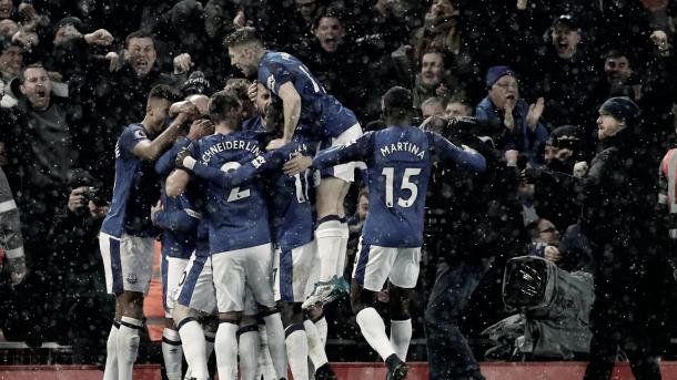 El Everton buscará volver a la senda de la victoria frente a un rival muy difícil./ Foto: Premier League