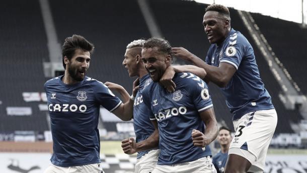 El Everton llega como líder al derbi./ Foto: Premier League