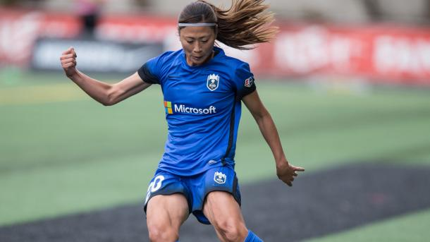 Rumi Utsugi has recovered from her injury in time to make the roster | Source: nwslsoccer.com