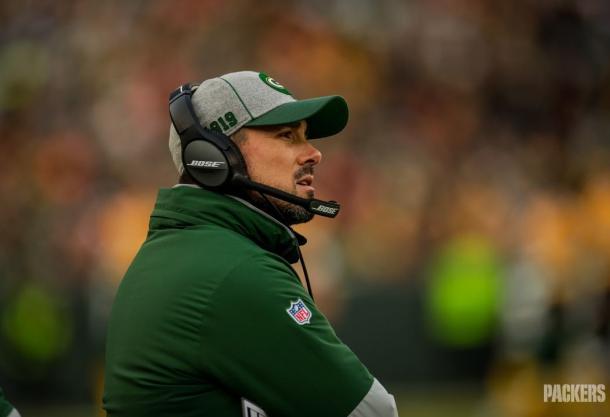 El entrenador en jefe de los Packers: Matt LaFleur (Foto: www.packers.com))