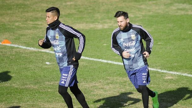 Maxi Meza habló sobre la ausencia de Messi | Foto: Web.