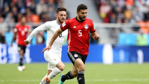 Egypt kept Uruguay at bay for most of the match | Source: Getty Images via FIFA.com