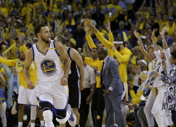 Curry's late game heroics gave Golden State the final margin of victory/Photo: am1070 website