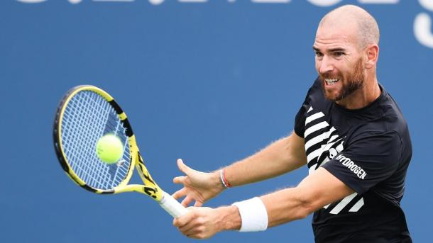 Mannarino was impressive against Jack Sock in the second round (Photo: Rick Rennert)