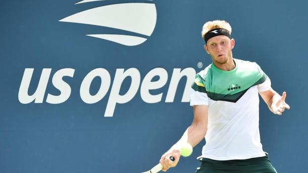 Fokina had his best Grand Slam to date at this year's US Open (Photo: Clair Maciel)