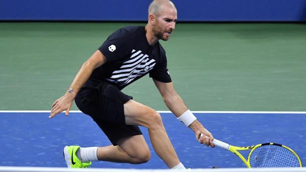 Mannarino was looking to achieve his best result at the US Open (Photo: Pete Staples)