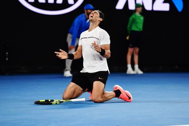 Nadal - Fonte: Ben Solomon/Tennis Australia