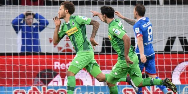 Fabian Johnson celebrates a goal away to Hoffenheim | Photo: Expess