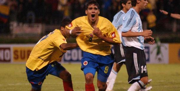 Radamel Falcao García abrió el marcador ante Argentina en la última fecha I Foto: AS COLOMBIA