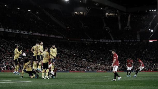Gran ejecución de Rashford./ Foto: Premier League