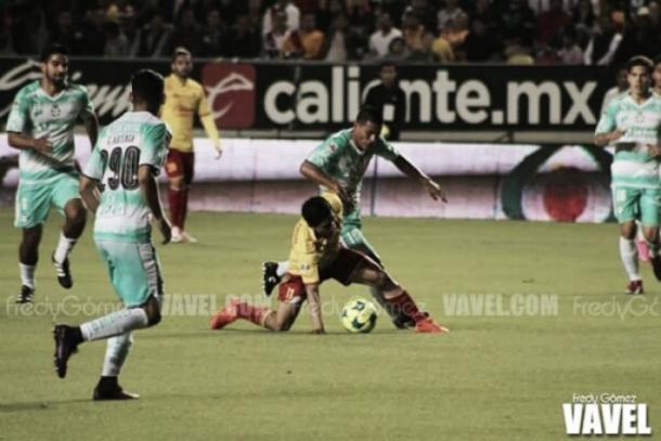 Santos empató con Morelia en la J3 | Foto: VAVEL