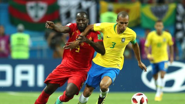 Lukaku, una pesadilla para la zaga amarilla | Foto: FIFA