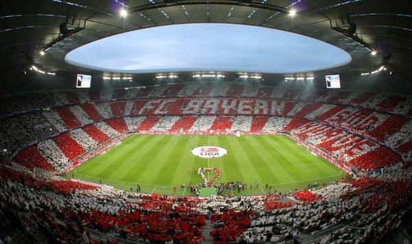 O Allianz Arena é o palco do jogo desta noite (Foto: FCBayern.com)