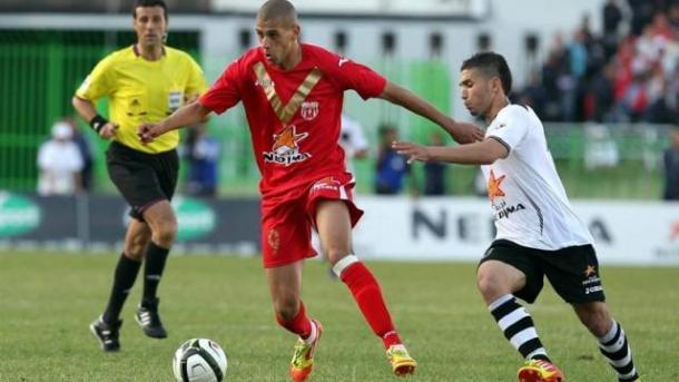 Slimani sempre foi o goleador que tem demonstrado ser no Sporting // Foto: ouest-france.fr