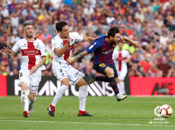 Messi es la estrella del FC Barcelona. | Foto: La Liga