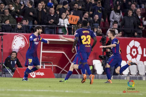 Messi voltou a ser decisivo   Foto: Divulgação/La Liga