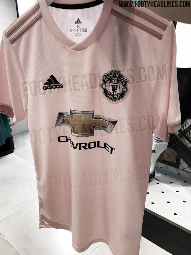 Camiseta visitante del Manchester United 2019  ad52bcd1765a6