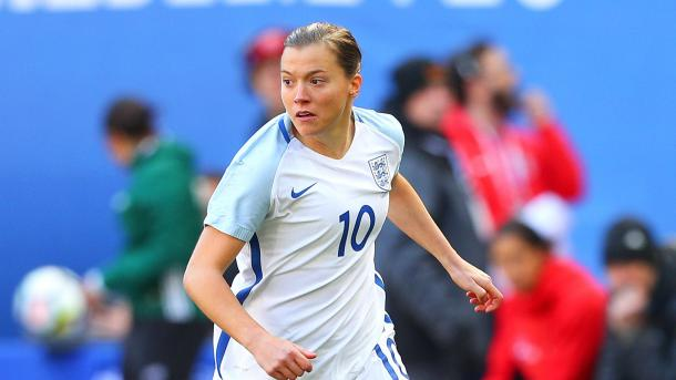 Fran Kirby will look to star at this year's SheBelieves Cup | Source: http://isoccernews.com