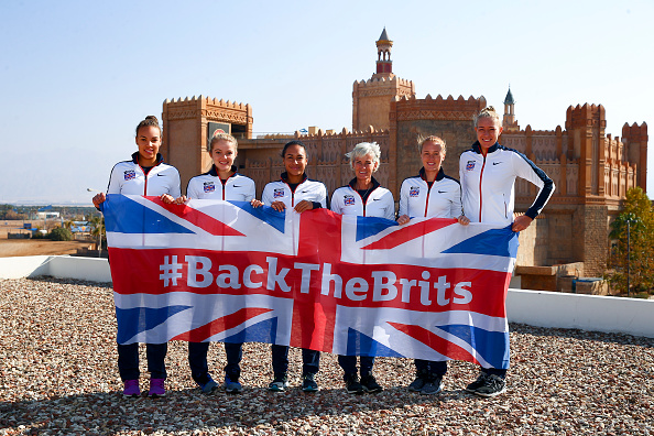 The Most Recent British Fed Cup Team. Photo: Jordan Mansfield/Getty Images