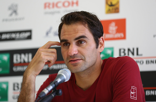 Federer has spoken of his concerns regarding doping previously (Photo: Getty Images/Matthew Lewis)