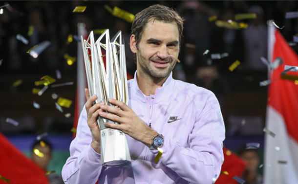 A second title in Shanghai was secured in October (Photo: Lintao Zhang/Getty Images)