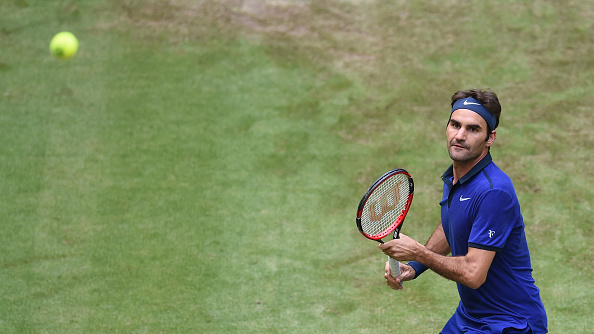 Federer continues his quest for a ninth success in the German city (Photo: Getty Images/Carmen Jaspersen)