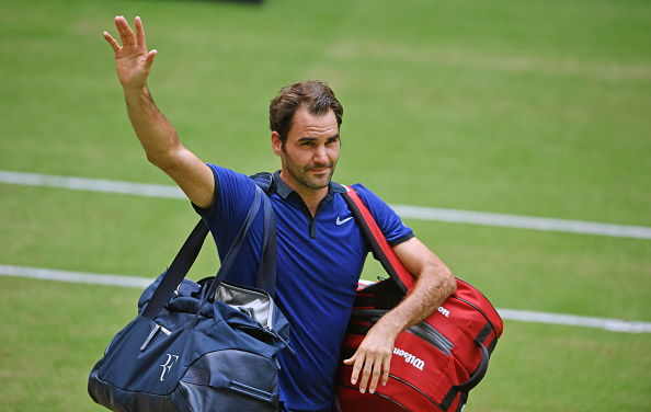 Federer exited Halle last week at the semifinal stage (Photo: Getty Images/Thomas Starke)