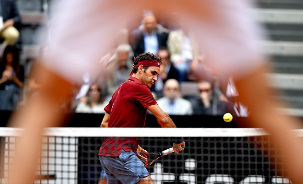 Federer looked injury-free during the match (Photo: Getty Images/Tiziana Fabi)