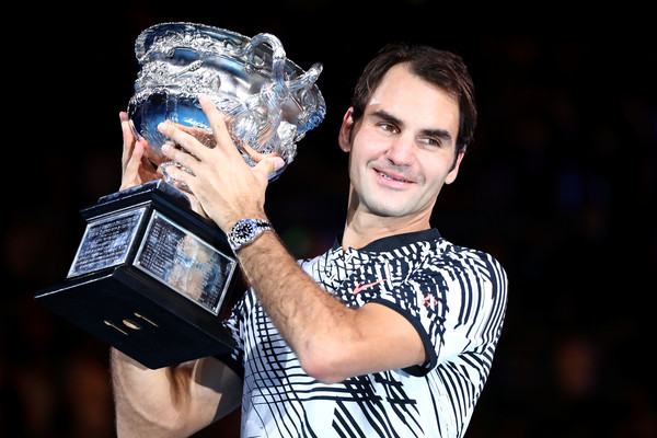 The former world number one shocked the world when he won his first Australian Open title in 7 years back in January (Photo by Cameron Spencer / Getty)