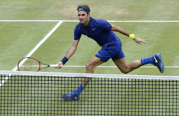 Federer will be the favourite to win his first title in Stuttgart (Photo by Daniel Kopatsch / Bongarts)