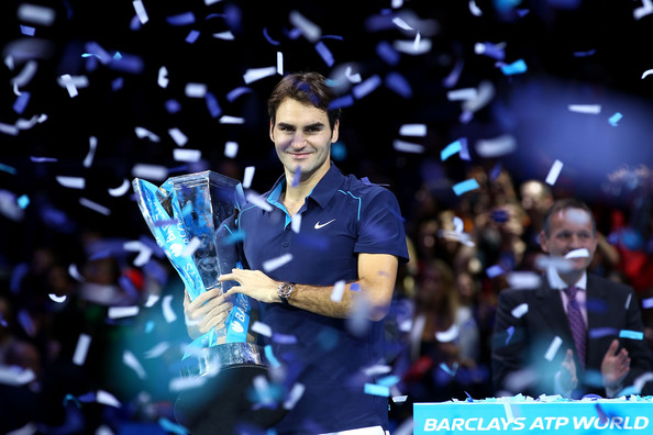 Federer's last triumph at the Nitto ATP Finals was in 2011 when he defeated Jo-Wilfried Tsonga in the final (Photo by Julian Finney / Getty)