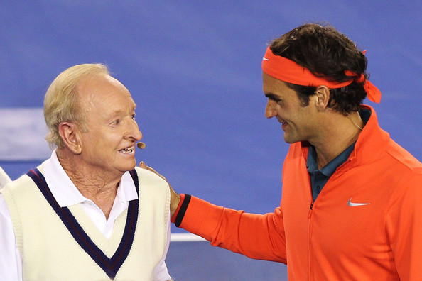 Nadal says Rod Laver or his rival Roger Federer are the greatest tennis player of all time (Source: Graham Denholm / Getty Images)