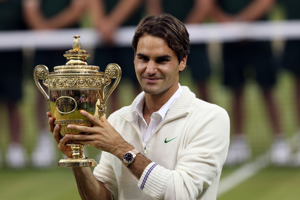 The former world number will be chasing a record extending 19th Grand Slam singles title at Wimbledon with his last triumph coming in 2012 over Murray in four sets (Photo by Julian Finney / Getty)