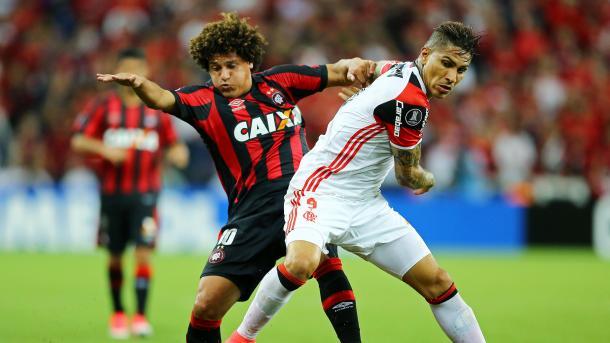 L'Atletico PR vince il derby contro il Flamengo 2-1