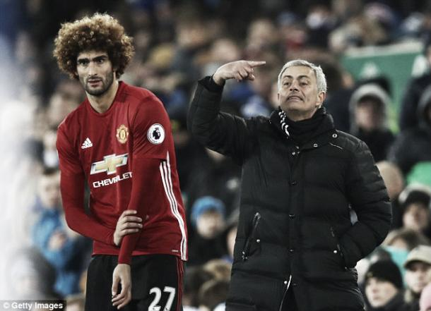 Mourinho's decision to bring on Fellaini wasn't vindicated (Photo: Getty Images)