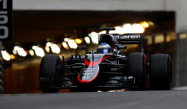 Fernando Alonso en Mónaco I Foto: F1