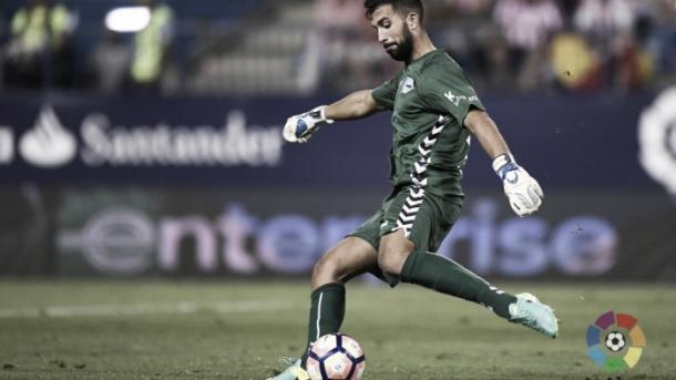 Pacheco durante un encuentro. Foto: La Liga