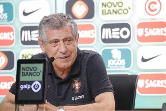 Fernando Santos quiere seguir haciendo historia con Portugal / www.fpf.pt