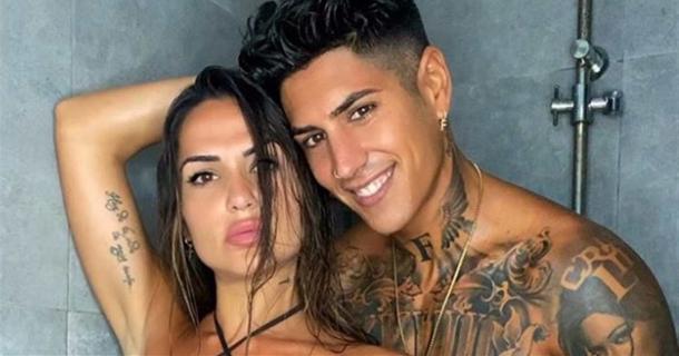 Ferre y su novia posan   Instagram