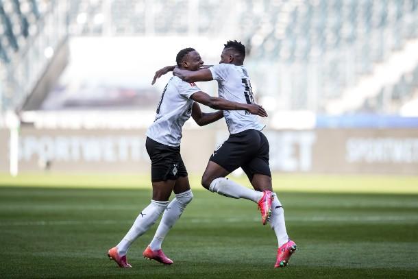 Celebración del quinto y último gol del encuentro / foto: @borussia_es