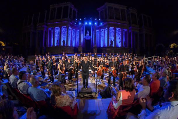 Festival de Teatro de Mérida. Fuente: Orquesta de Extremadura