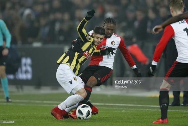 Imagen de la ultima victoria del Feyenoord en la Eredivisie / Foto: gettyimages