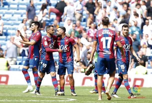 Meritorio empate conseguido en el Santiago Bernabéu/ Fuente: LaLiga.es