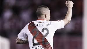 Em 2016, D'Alessandro deu pausa na longa passagem pelo Inter para voltar ao River por empréstimo. Foto: River Plate